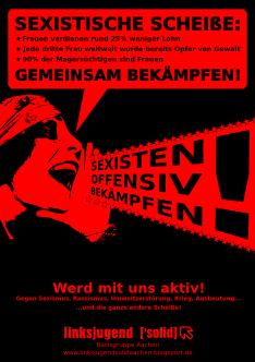 Plakat sexismus